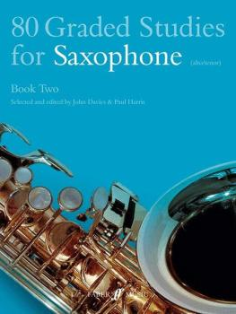 80 Graded Studies for Saxophone, Book 2 (AL-12-0571510485)