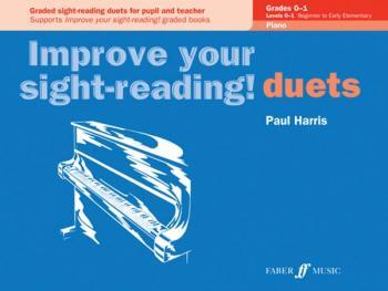 Improve Your Sight-reading! Piano Duet, Grade 0-1 (AL-12-0571524052)