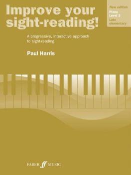 Improve Your Sight-reading! Piano, Level 3 (AL-12-0571533132)