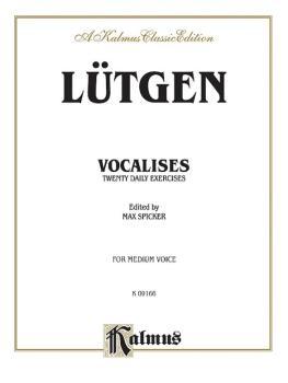 Vocalises: 20 Daily Exercises (AL-00-K09166)