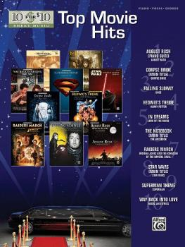 10 for 10 Sheet Music: Top Movie Hits (AL-00-31471)