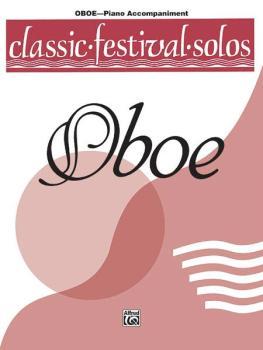 Classic Festival Solos (Oboe), Volume 1 Piano Acc. (AL-00-EL03723)