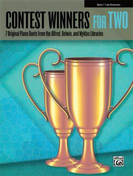 Contest Winners for Two, Book 2: 7 Original Piano Duets from the Alfre (AL-00-42271)