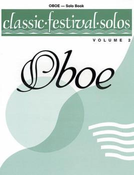 Classic Festival Solos (Oboe), Volume 2 Solo Book (AL-00-EL03871)