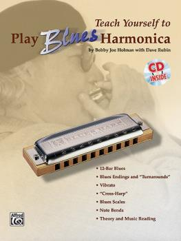 Teach Yourself to Play Blues Harmonica (AL-00-0386B)