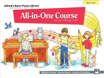 Alfred's Basic All-in-One Course Universal Edition, Book 1 (Lesson * T (AL-00-14504)