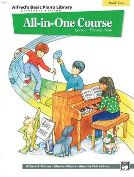 Alfred's Basic All-in-One Course Universal Edition, Book 2 (Lesson * T (AL-00-14505)