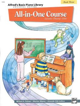 Alfred's Basic All-in-One Course Universal Edition, Book 3 (Lesson * T (AL-00-14506)