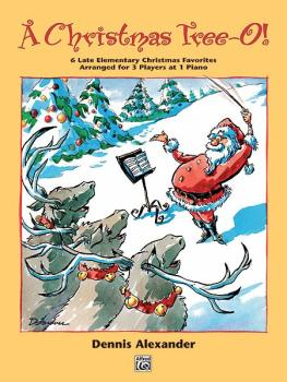 A Christmas Tree-O!: 6 Late Elementary Christmas Favorites Arranged fo (AL-00-14515)