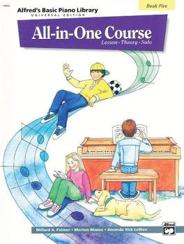 Alfred's Basic All-in-One Course Universal Edition, Book 5 (Lesson * T (AL-00-14518)