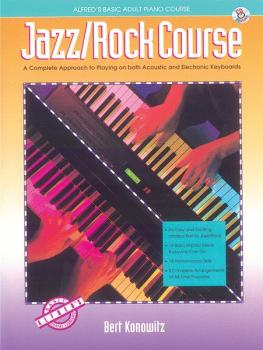 Alfred's Basic Adult Jazz/Rock Course: A Complete Approach to Playing  (AL-00-14520)