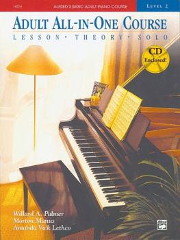 Alfred's Basic Adult All-in-One Course, Book 2 (Lesson * Theory * Solo (AL-00-14534)