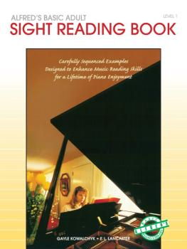 Alfred's Basic Adult Piano Course: Sight Reading Book 1 (AL-00-14539)