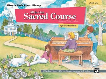 Alfred's Basic All-in-One Sacred Course, Book 1 (Lesson * Theory * Sol (AL-00-14558)