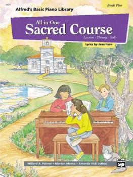 Alfred's Basic All-in-One Sacred Course, Book 5 (Lesson * Theory * Sol (AL-00-14571)