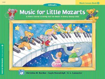 Music for Little Mozarts: Music Lesson Book 2 (AL-00-14581)