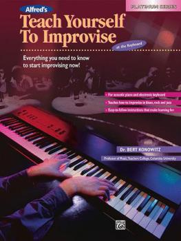 Alfred's Teach Yourself to Improvise at the Keyboard (AL-00-16608)