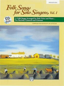 Folk Songs for Solo Singers, Vol. 1: 11 Folk Songs Arranged for Solo V (AL-00-16632)