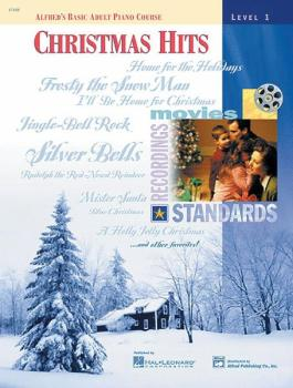 Alfred's Basic Adult Piano Course: Christmas Hits Book 1 (AL-00-17108)
