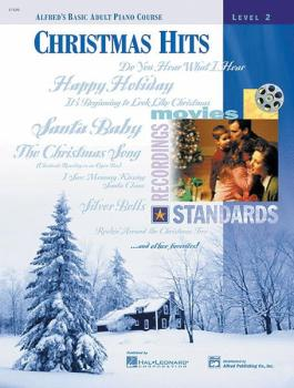 Alfred's Basic Adult Piano Course: Christmas Hits Book 2 (AL-00-17109)
