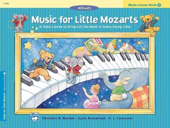Music for Little Mozarts: Music Lesson Book 3: A Piano Course to Bring (AL-00-17180)