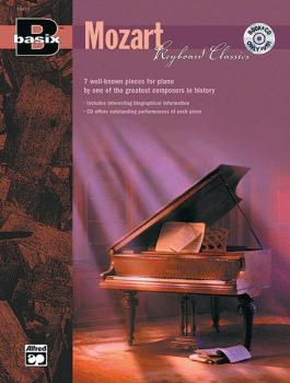 Basix®: Keyboard Classics: Mozart: 7 Well-Known Pieces for Piano by On (AL-00-19470)