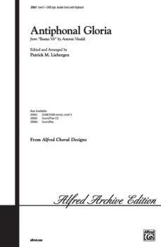 Antiphonal Gloria (AL-00-20061)