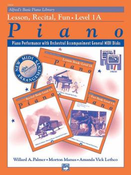Alfred's Basic Piano Library: GM Disk -- Lesson, Recital & Fun Books,  (AL-00-20650)