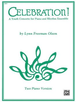 Celebration!: A Youth Concerto for Piano and Rhythm Ensemble (AL-00-2074)