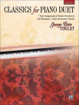 Classics for Piano Duet, Book 1: 7 Duet Arrangements of Student Favori (AL-00-20773)