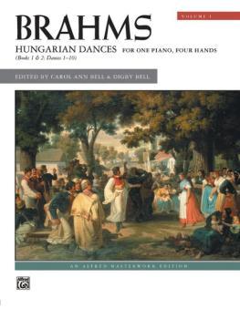 Brahms: Hungarian Dances, Volume 1 (AL-00-20847)