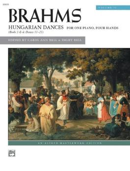 Brahms: Hungarian Dances, Volume 2 (AL-00-20859)