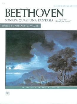 Beethoven: Moonlight Sonata, Opus 27, No. 2 (First Movement) (AL-00-2148)