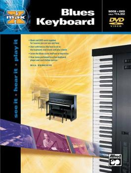 Alfred's MAX™ Blues Keyboard: See It * Hear It * Play It (AL-00-21974)