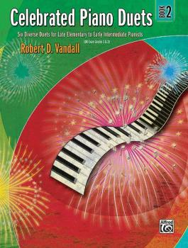 Celebrated Piano Duets, Book 2: Six Diverse Duets for Late Elementary  (AL-00-22532)