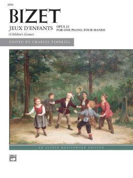 Bizet: Jeux d'enfants, Opus 22 (AL-00-22552)