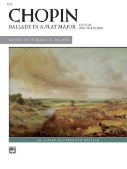 Chopin: Ballade in A-flat Major (AL-00-22557)