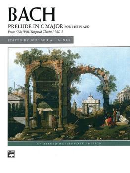 Bach: Prelude in C Major (AL-00-2271)
