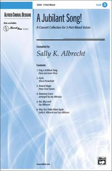 A Jubilant Song: A Concert Collection for 3-Part Mixed Voices (AL-00-22941)