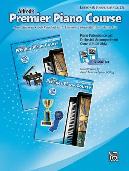 Premier Piano Course, GM Disk 2A for Lesson and Performance (AL-00-23260)