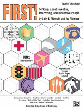First!: 14 Songs About Inventive, Interesting, and Innovative People (AL-00-24013)