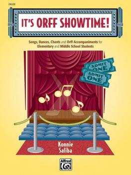 It's Orff Showtime!: Songs, Dances, Chants, and Orff Accompaniments fo (AL-00-24220)