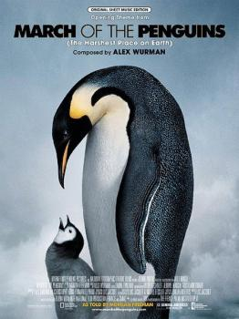 <I>March of the Penguins,</I> Opening Theme from (The Harshest Place o (AL-00-24616)