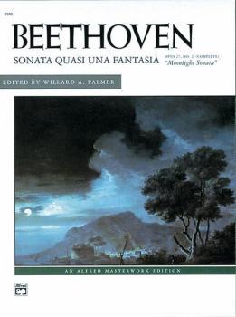 Beethoven: Moonlight Sonata, Opus 27, No. 2 (Complete) (AL-00-2502)