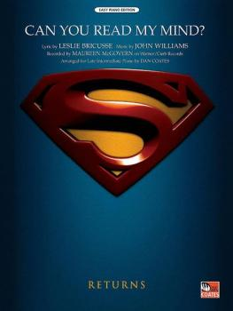 Can You Read My Mind? (Love Theme from <I>Superman</I>) (AL-00-26110)