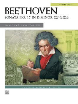 """Beethoven: Sonata No. 17 in D Minor, Opus 31, No. 2 (""""Tempest"""") (AL-00-27904)"""