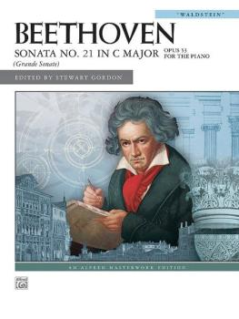 """Beethoven: Sonata No. 21 in C Major, Opus 53 (""""Waldstein"""") (AL-00-27905)"""