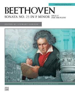 "Beethoven: Sonata No. 23 in F Minor, Opus 57 (""Appassionata"") (AL-00-27906)"
