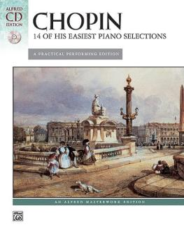 14 of His Easiest Piano Selections (AL-00-28050)