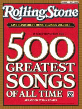 <i>Rolling Stone</i>® Easy Piano Sheet Music Classics, Volume 1: 39 Se (AL-00-30195)